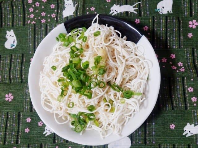 豆腐そうめん(素麺)